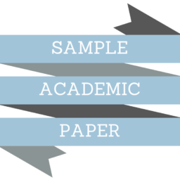 Sample Academic Paper from WeDoYourEssay.com